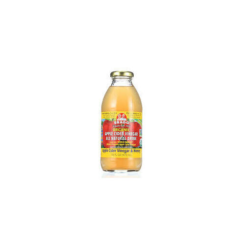 Organic Apple Cider Vinegar All Natural Drink with Honey 473ml