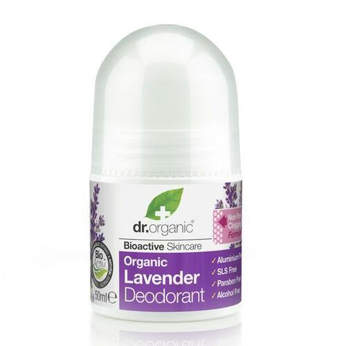 DR ORGANIC Roll-On Deodorant Lavender 50ml