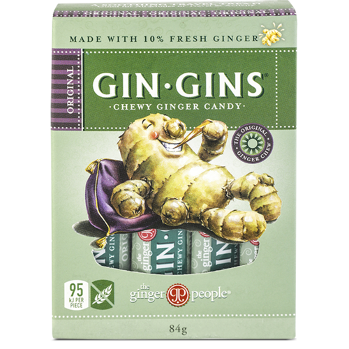 Original Gin Gins Chewy Candy 84g