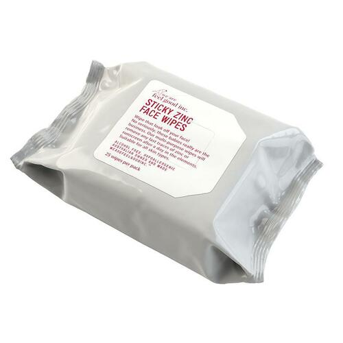 Sticky Zinc Face Wipe (25 wipes)