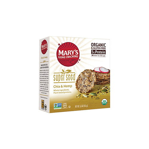Superseed Chia & Hemp Crackers 155g