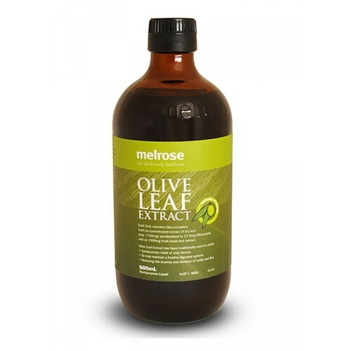 Olive Leaf Extract Natural 500ml