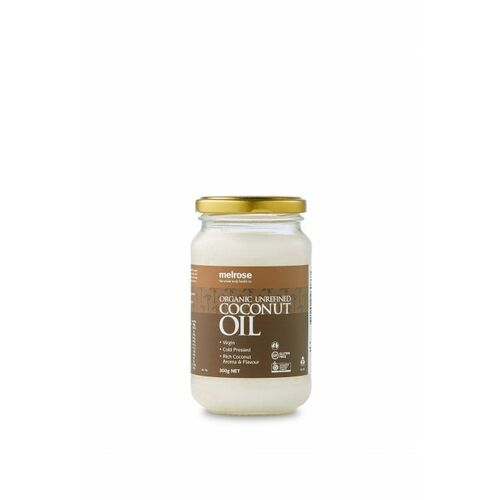 Unrefined Organic Coconut Oil 300g