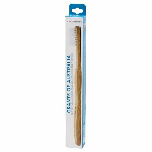 Toothbrush Adult Soft Biodegradable Bamboo