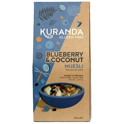 Blueberries & Coconut Paleo Muesli 350g