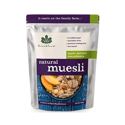 Natural Muesli Apple Apricot 1.5kg