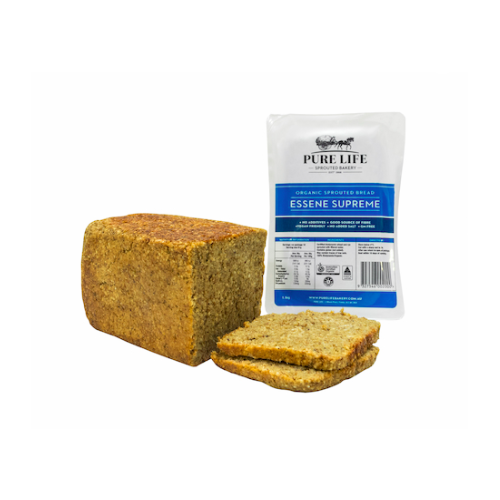Organic Sprouted Bread - Essene Supreme