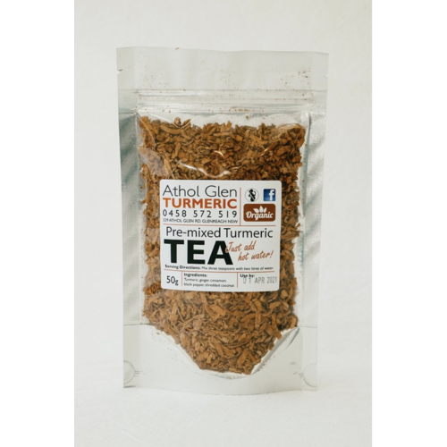 Turmeric Tea Local and Organic 50g