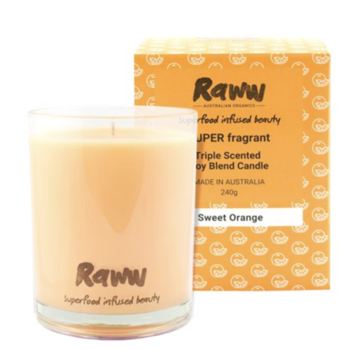 Super Fragrant Candle Sweet Orange