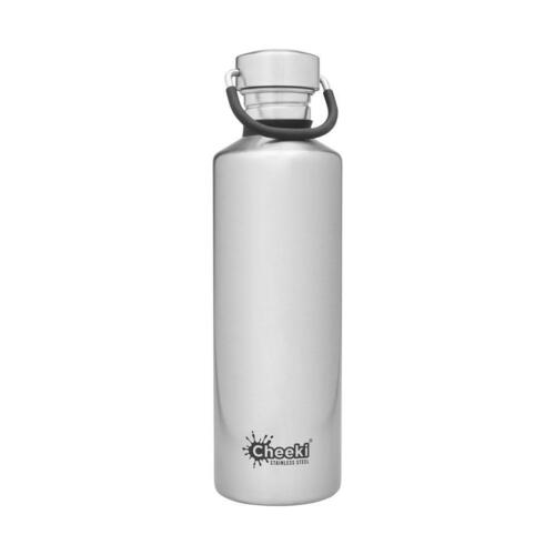 Cheeki Classic Stainless Steel 750ml Silver