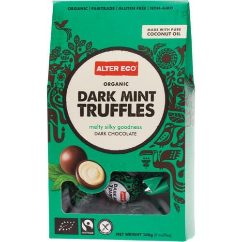 ALTER ECO Truffles Mint Creme 108g