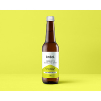 Probiotic Sparkling Drink PIneapple & Ginger 330ml