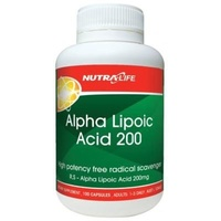 ALPHA LIPOIC ACID 200 100c