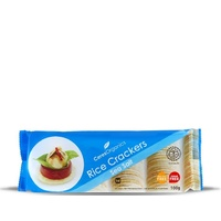 Ceres Organic Rice Crackers - Sea Salt G/F 100g