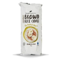 s Brown Rice Cakes No Added Salt 110g