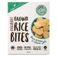 Ceces Organics Rice Bites Sour Cream & Chives