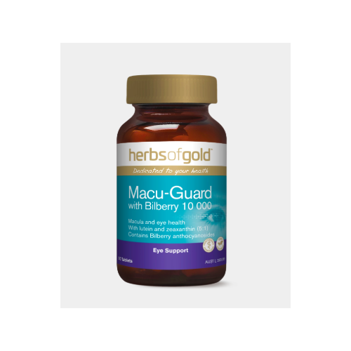 MACU-GUARD WITH BILBERRY 10 000 60 Tablets